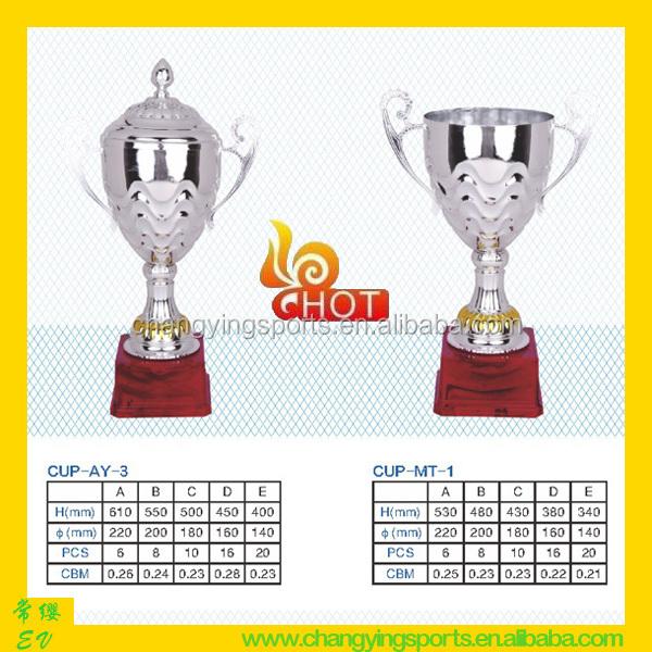 Metal Trophies And Awards Metal Trophy Cup AY-3