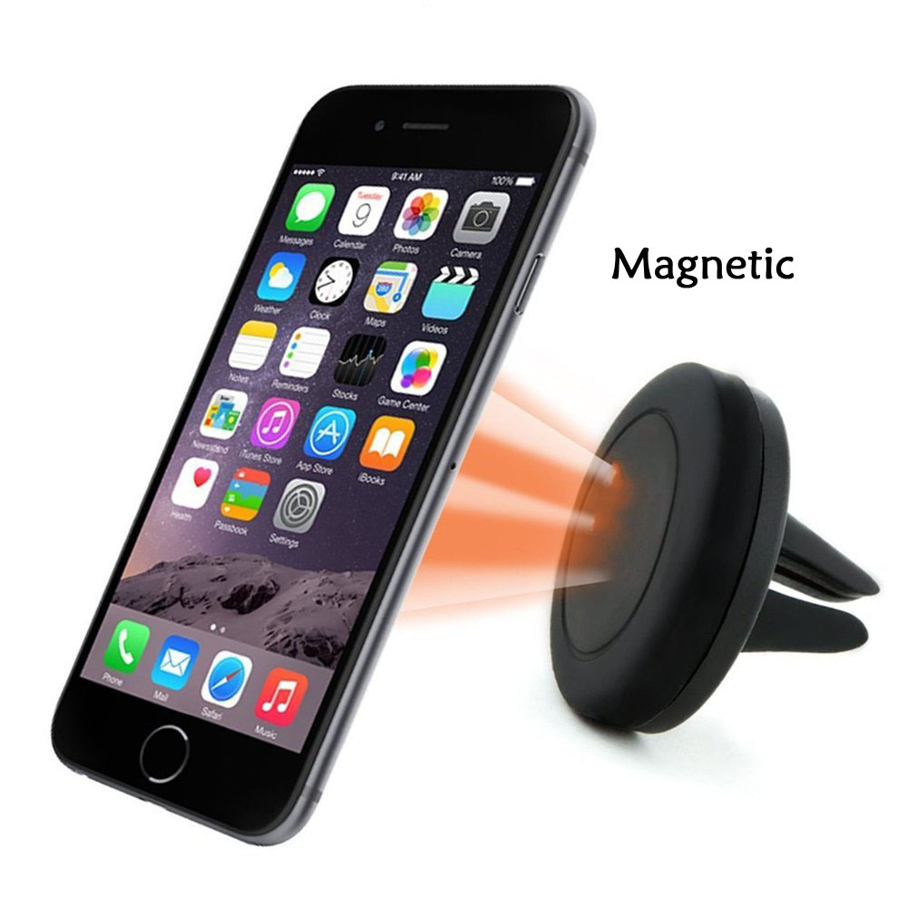 2017 Universal cellphone phone holder, Vehicle car magnet phone holder, air vent Mount magnetic phone holder