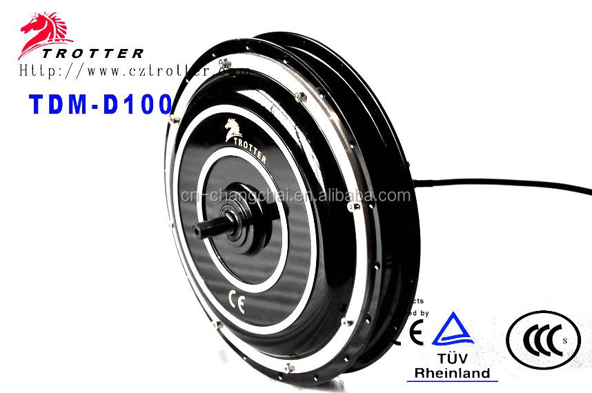 High power 72V 1500W electric electric bicycle hub Motor with CE for sale