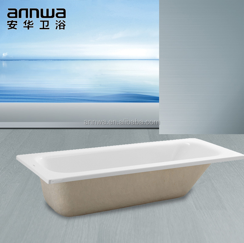 low price porcelain acrylic freestanding bathtub