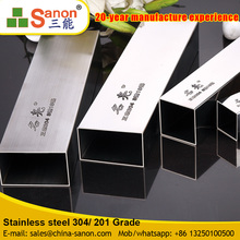 Commercial Grade 400 Series Industrial Square Stainless Steel Welded Pipe