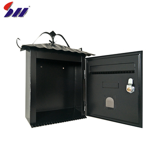 New style metal outdoor wall mounted vintage mailboxes for apartments