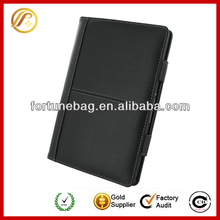 High quality wallet leather case for blackberry playbook