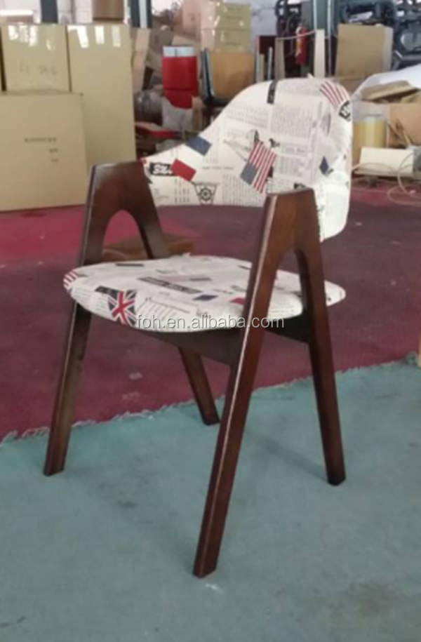 Wooden Chair Used For Restaurant(FOH-BCA28)