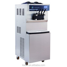 commercial high quality egypt rolled fry ice cream machine with CE approved