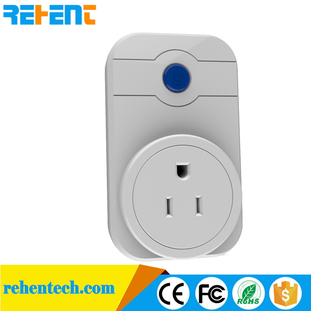 Wi-Fi Smart Socket Outlet US UK AU EU Plug work with Alexa Google Home