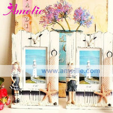 AR139 4*6 Inch Painted the boys and girls wooden photo frame