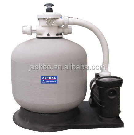 Best quality Side mounted swimming pool ,water well sand filter with pump sand filter