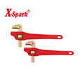 High quality hand tools non sparking non magnetic beryllium copper aluminium bronze inch full offset pipe wrench