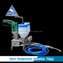 800 Double Concrete Epoxy Grouting Injection Pump For Crack Repair