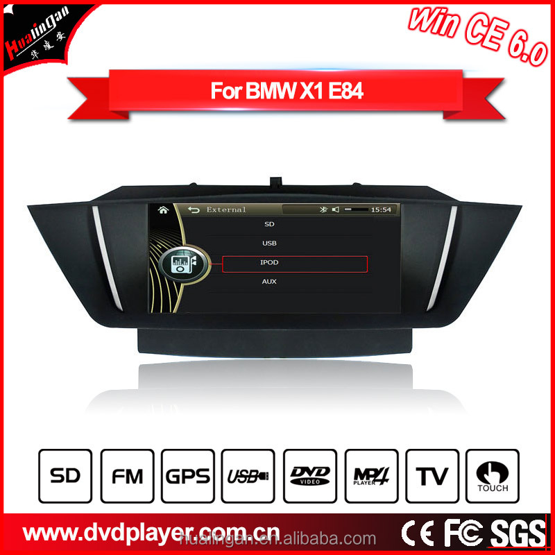 8814 HLA For bmw X1/E84 WIN CE 6.0 DVD CAR PLAY WITH MP3/4