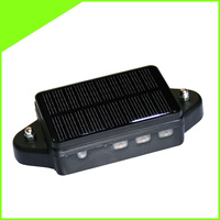 Solar powered vehicle gps tracker with big 4000 mAH rechargeable LI battery