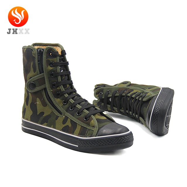 High Quality Safety Industrial Footwear, Security Guard Work Boots