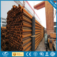 hdpe pipe standard length erw welded steel pipe