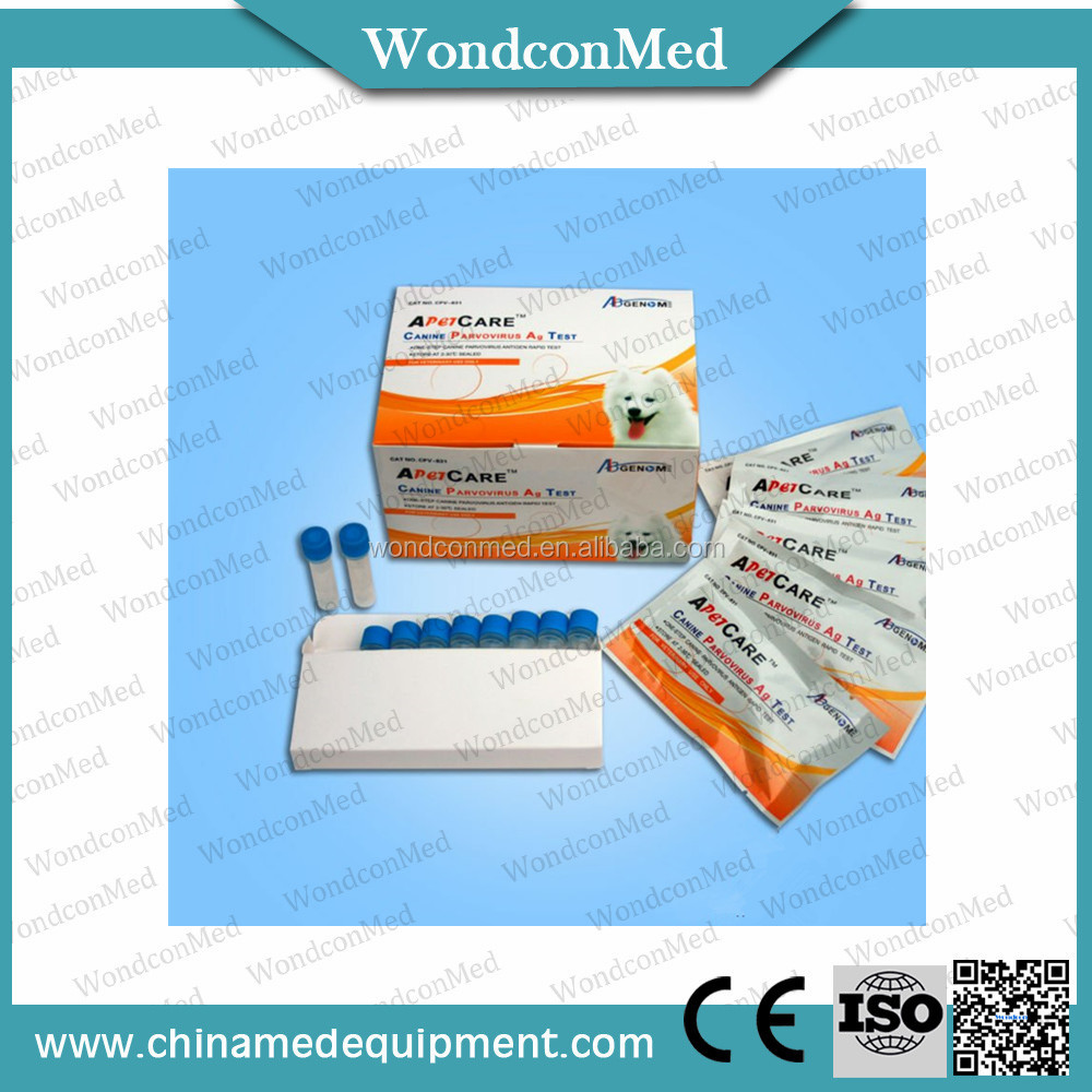 Direct sandwich method veterinary canine rapid diagnostic test