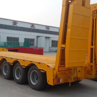 Good Quality 3 Axles Semi Trailer