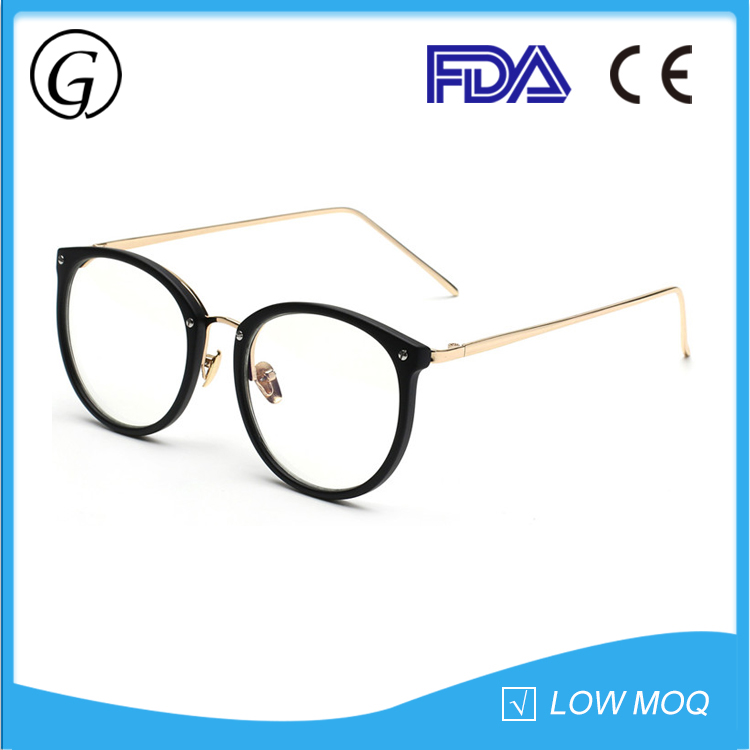 mens optical frames eye glasses,metal eyeglasses transparent lens