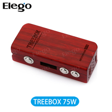 Authentic Smoktech Treebox TC Wood Mod with 75W Wholesale