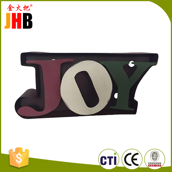Wholesale price household foam wall metal holiday time christmas decorations