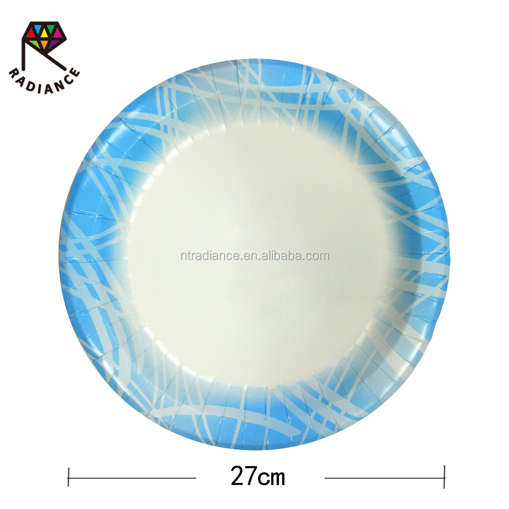 10 1/4 26 cm In Design Plate Disposable Paper Plates