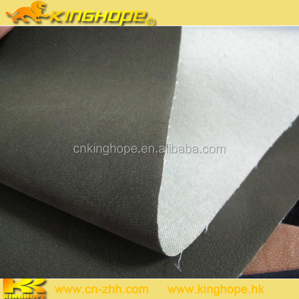 Microfiber suede leather PVC PU synthetic leather