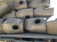 Aircraft Liner Combuster Aluminum / Hastelloy for Scrap Recovery