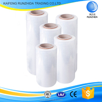 new pe wrapping plastic roll stretch film for cover