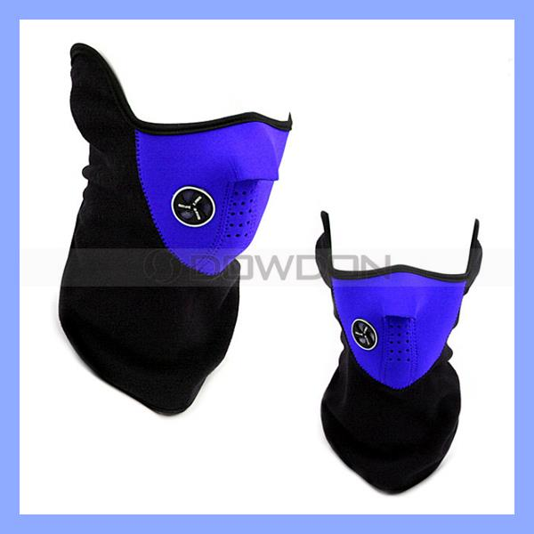 Lightweight 3 Colors Riding Bicycle Neoprene Face Ski Mask