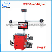 High Accuracy 3D Wheel Alignment WA6T