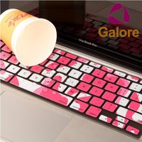 Custom Laptop Skin Waterproof Dustproof Silicone Keyboard Cover