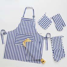 Couples women long kitchen apron set