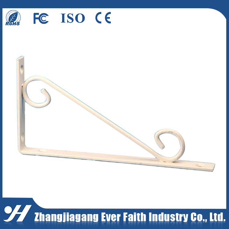 Steel Braced Galvanized 90 Degree Angle Bracket View 90