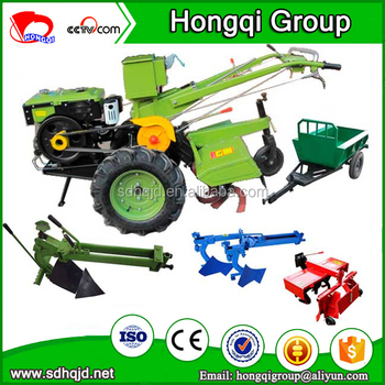 factory supply good quality 8hp to 18hp mini hand tractor with hand tractor options price