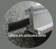 bristle weather strip/car weather stripping/weather stripping steel door