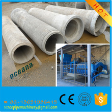 precast concrete pipe making machine for water drainage pipe