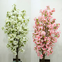 wedding decorative artificial fake indoor cherry blossom tree