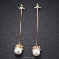 wholesale indian jhumka earrings Brass tassle earrings KE696