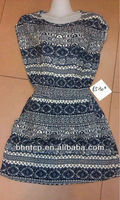 BHN906 Garment stock lot Rayon dresses Clothing available at Cheap price
