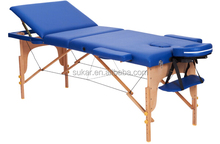 Facial Bed for Sale 3 Section Wooden Table