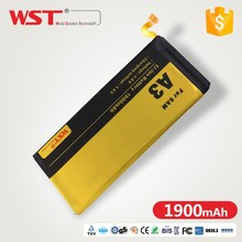 High Quality Big Capacity 3.8V 2600mAh battery for cell phone