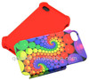 2in1 3D cover for iPhone 4/4S,insert card 3D phone cover,blank sublimation phone case