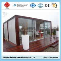 prefabricated shipping container coffee shop