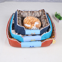 China manufacturer house paws dog beds china market best selling pet bed fabric for dog bed