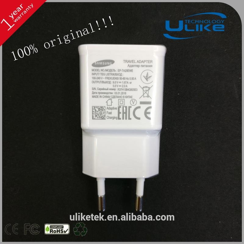 For Samsung EU plug charger rechargeable battery charger,mobile power supply