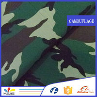 polyester/cotton 80/20waterproof camouflage swimwear fabric