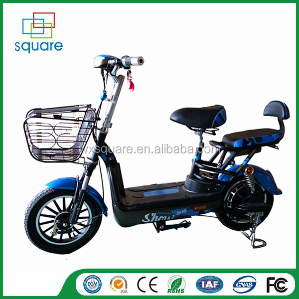 Mini 48V two wheel battery pack brushless lightweight electric mobility scooter