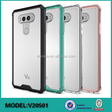 tpu+acrylic back cover mobile phone case for LG V20,for LG V20 case