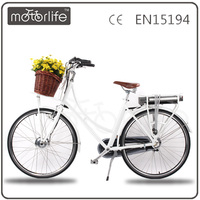MOTORLIFE/OEM 2016 36v250w CE approved newest hot sale electric bike,city e bike