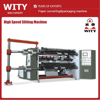 2016 High Speed Automatic Slitting Machine (Economic Price) for paper and plastic film