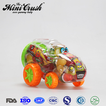 Lita food new confectionery toys!kids small car toys with mini jelly soft candy